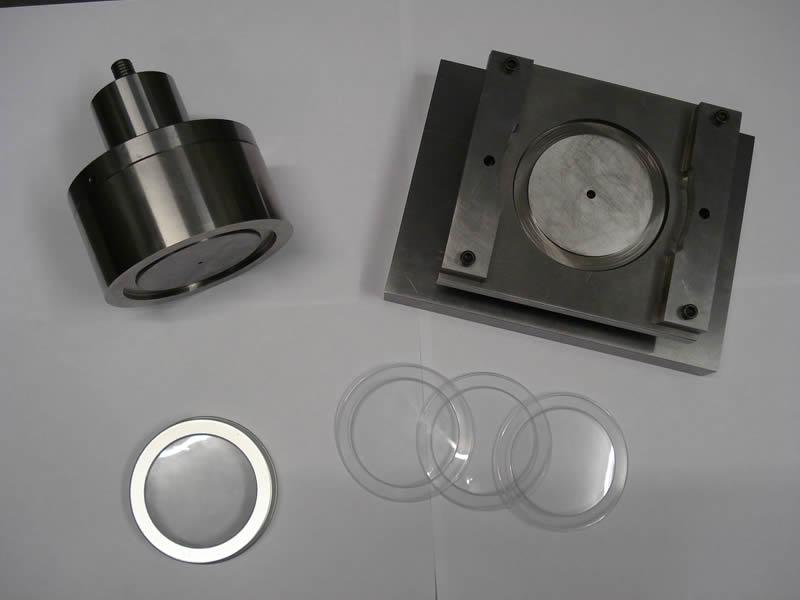 Press cap disc tool